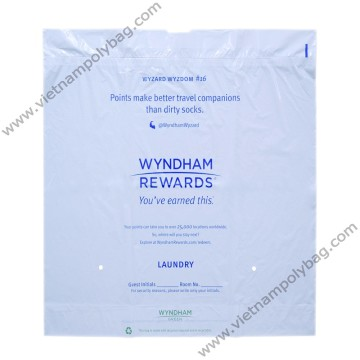 Drawtape bags for laundry