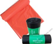 Customized garbage bags on roll