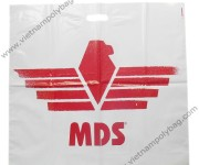 Logo printing patch handle bags