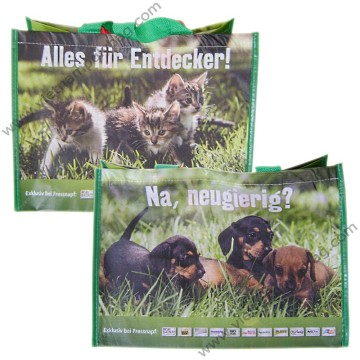 Matt lamination R-pet bags