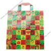 High quality printing soft loop bags