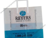 Customized promotion tri-fold bags