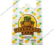 T-shirt bags for fresh fruits