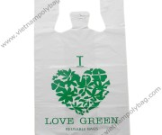 Reusable T-shirt bags